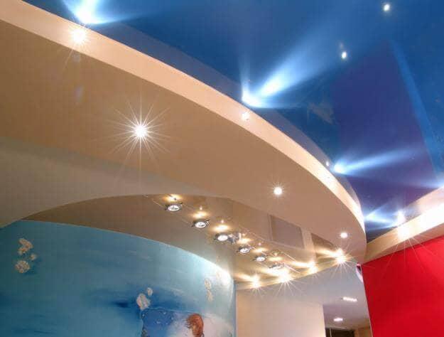 Натяжной потолок из виниловой плёнки