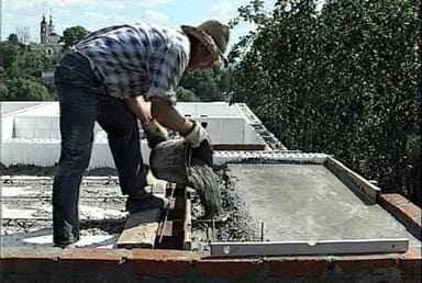Работа с монолитным бетоном