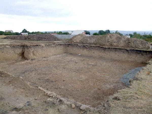 Почвы под фундамент
