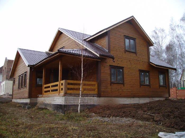 НФундамент для деревянного дома