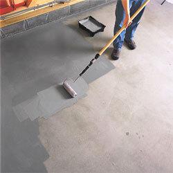 Как защитить бетонный пол?