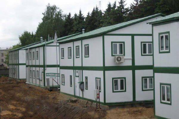 Здание модульное