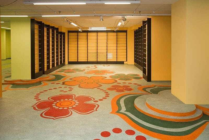 Selection of floor coverings
