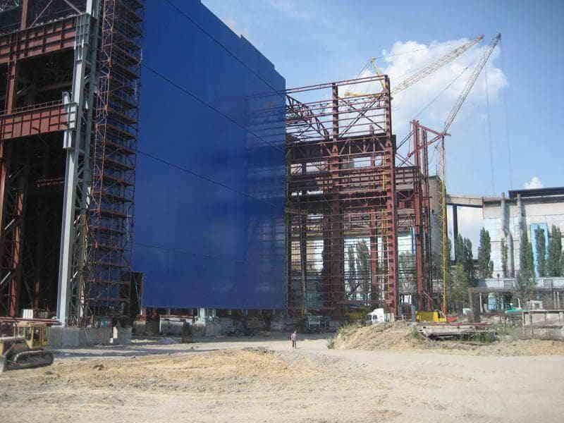 Строительство промышленного здания