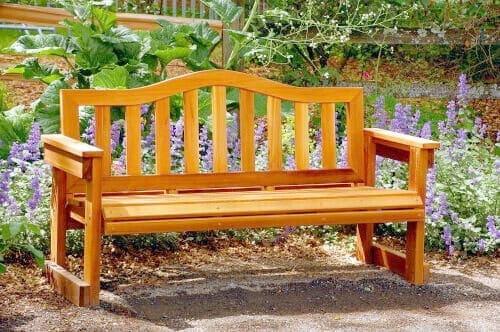 Скамейка для сада