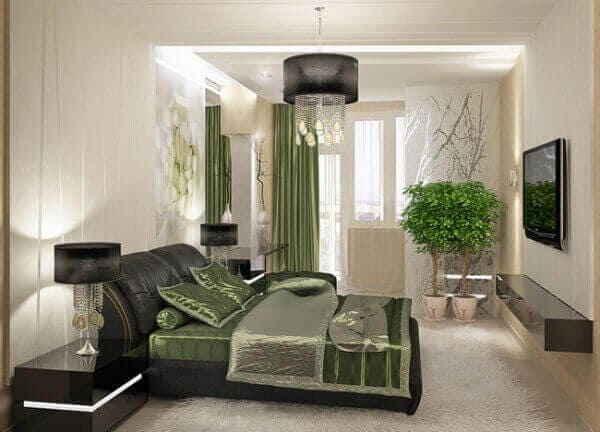 Цветовое оформление спальной комнаты