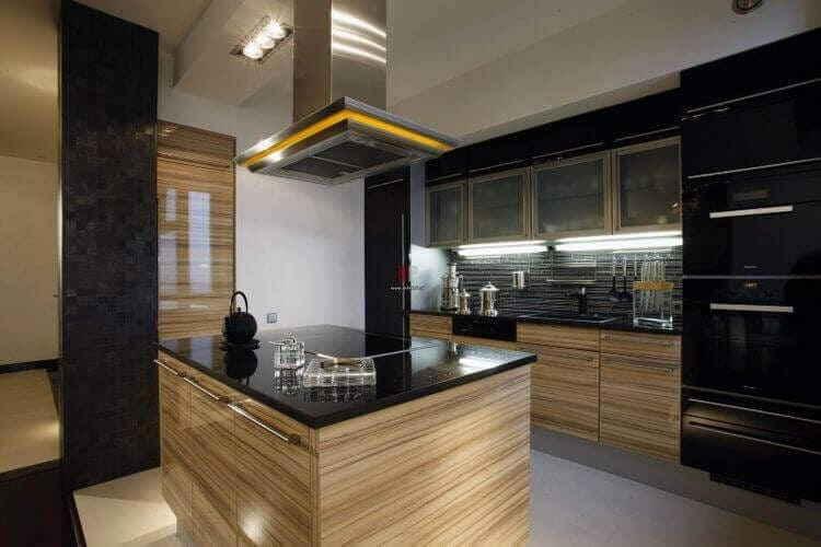 Дизайн большой кухни: современные интерьеры и планировка