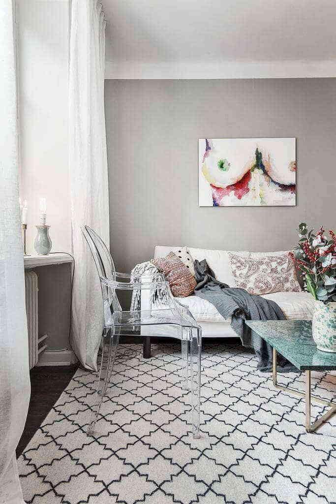 Дизайн интерьера в духе шведского романтизма