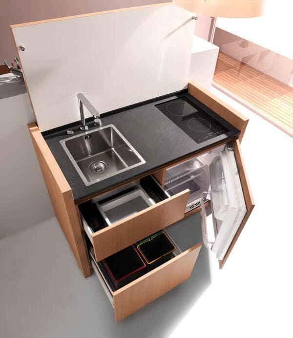 Дизайны мини-кухни - Фото
