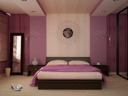 Фиолетовая спальня: варианты современного дизайна