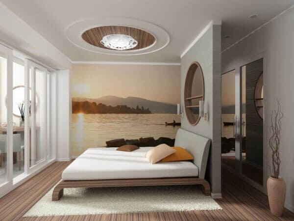 Идеи интерьера спальни для маленьких и больших помещений