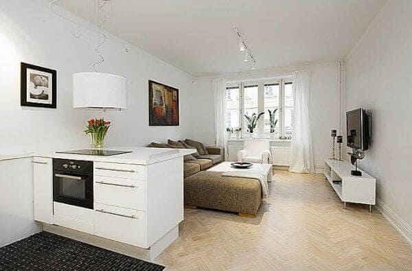 Интерьер комнаты в общежитии