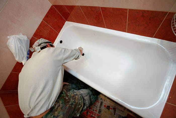 Покрытие ванны жидким акрилом