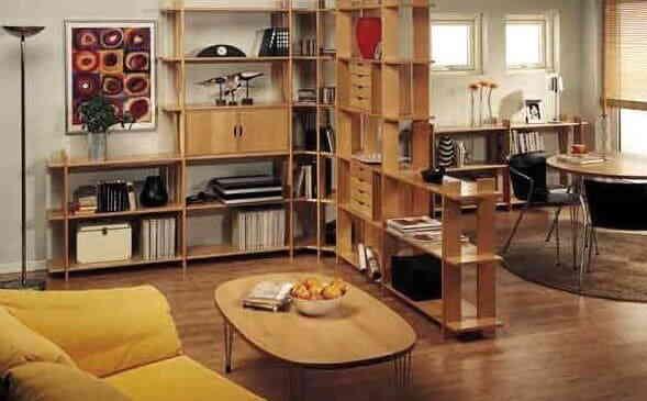 Как обставить однокомнатную квартиру - Фото