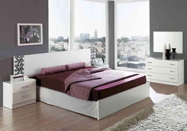 Самый маленький мебельный комплект в спальную