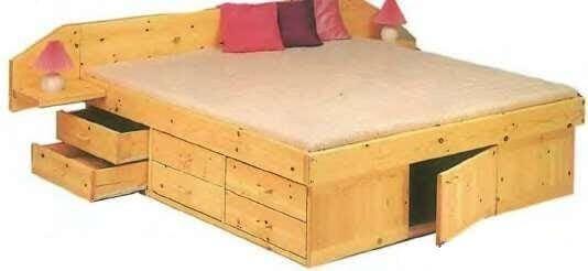Универсальная кровать-шкаф