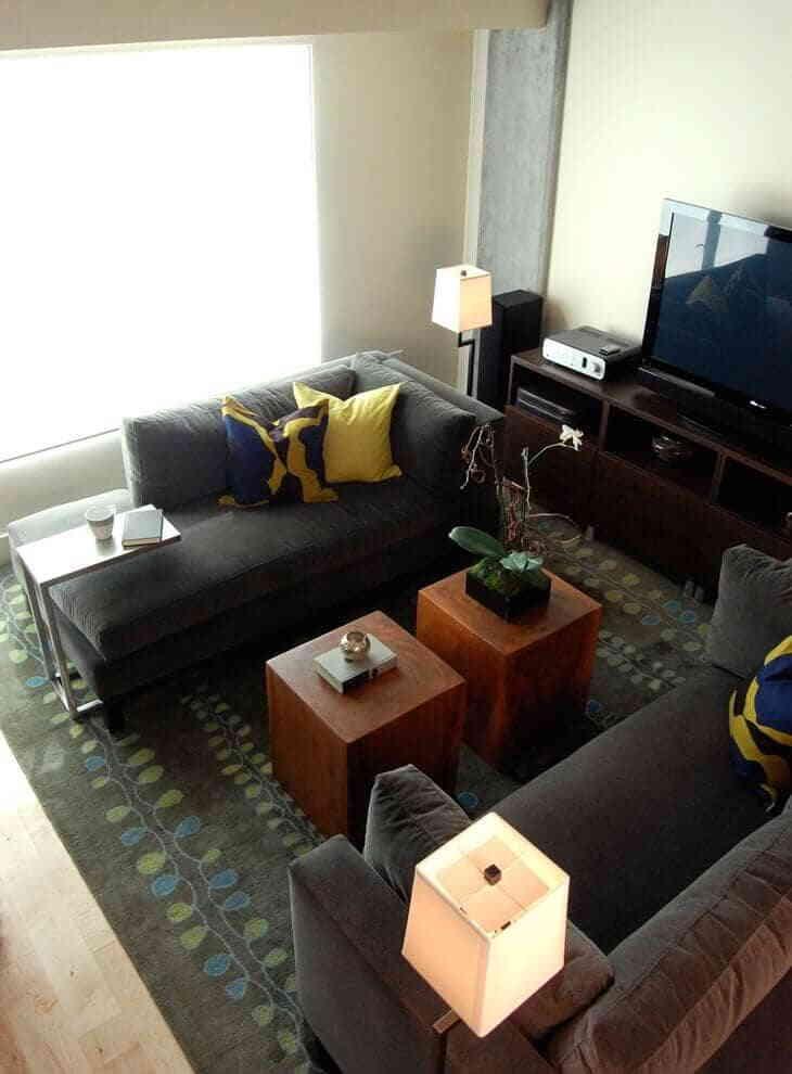 Как расставить мебель