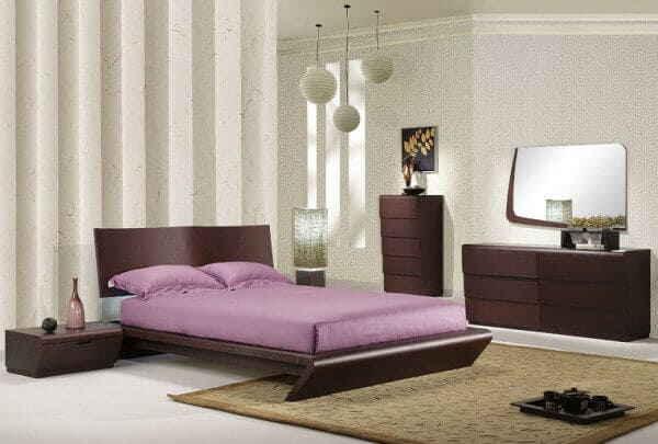 Мужская спальня в стиле «минимализм»