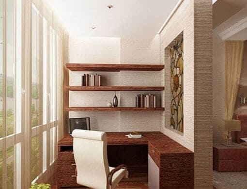 Соединение комнаты для сна и балкона