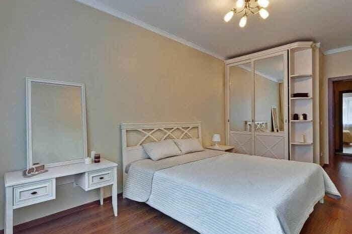 Спальная комната в стиле классицизма