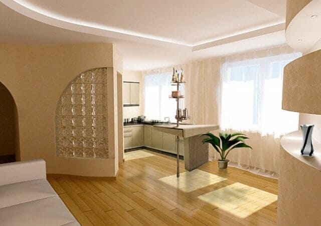 Фото дизайна квартир хрущевок 3 комнаты 165