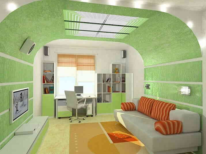 Современная спальня для подростка
