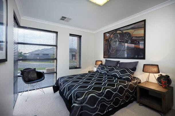 Модерн в комнатном интерьере для юноши