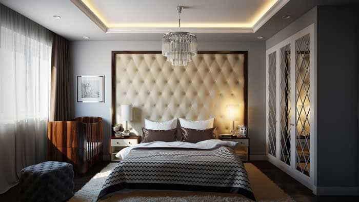 Современный дизайн спальни: обзор интересных вариантов
