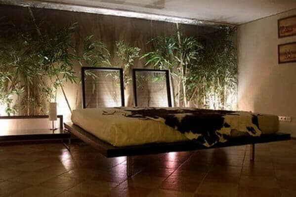 Эко-дизайн комнаты для сна