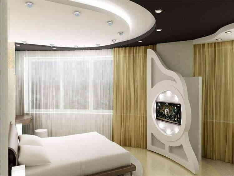 Пример оформления спальной комнаты