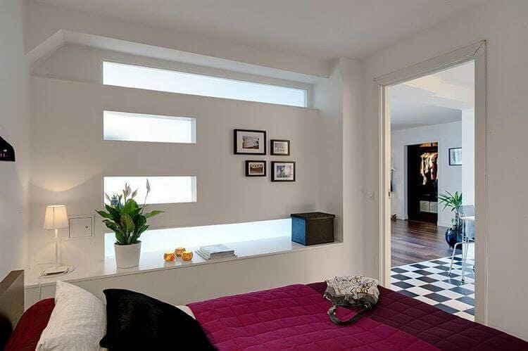 Спальня без окна: рекомендации по обустройству и дизайнерские приемы