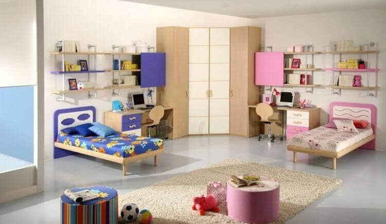 Спальня для девочки: необычные решения обычной комнаты