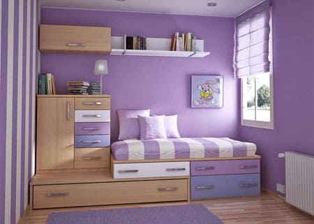 Оформление малогабаритной спальной комнаты