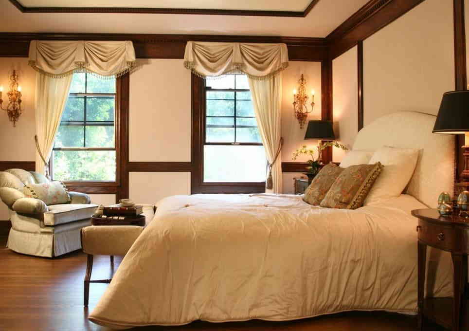 Спальня в коричневых тонах – выбор состоявшихся людей