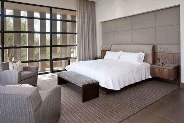 Спальня в серых тонах – не унылость, а сдержанная элегантность