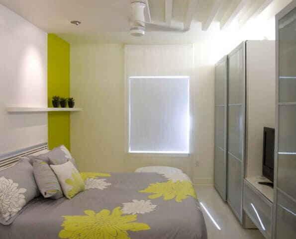 Спальня в стиле минимализм - пространство и свет