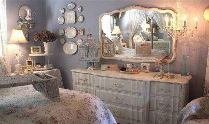 Спальня в стиле шебби шик – утончённое винтажное сочетание старого и нового с нотками романтизма